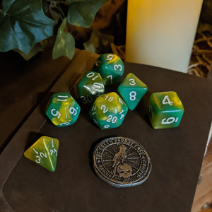 Game Dice - Jade