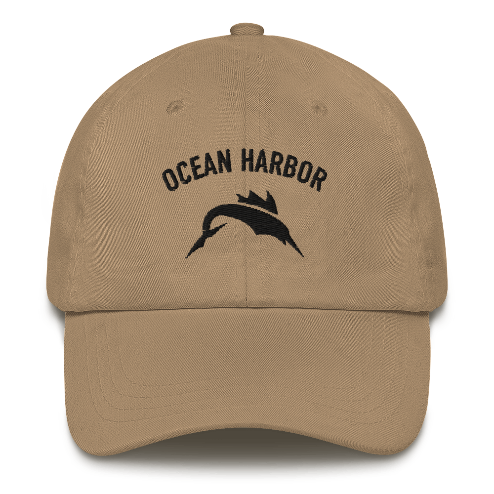 Ocean Harbor Embroidered Cap