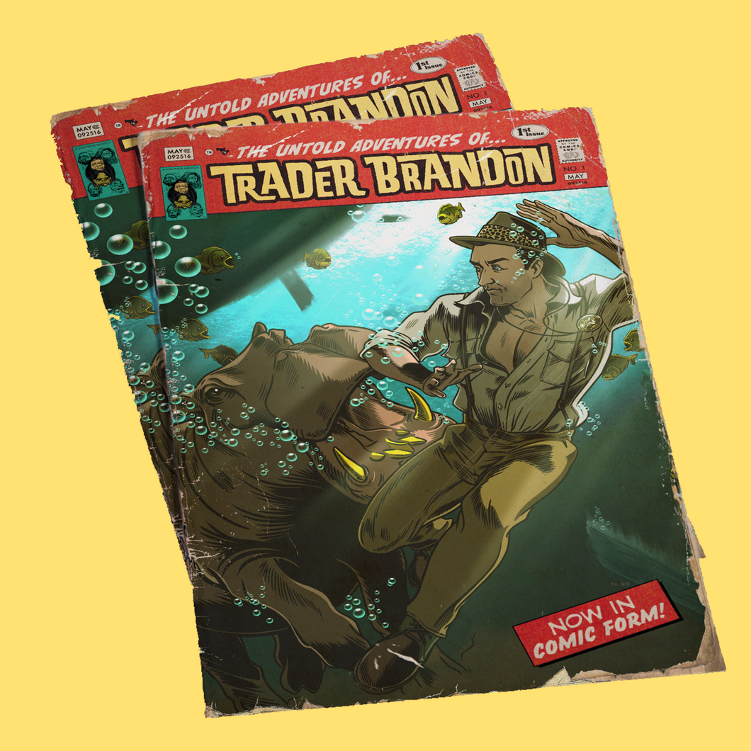 The Untold Adventures of Trader Brandon - #1