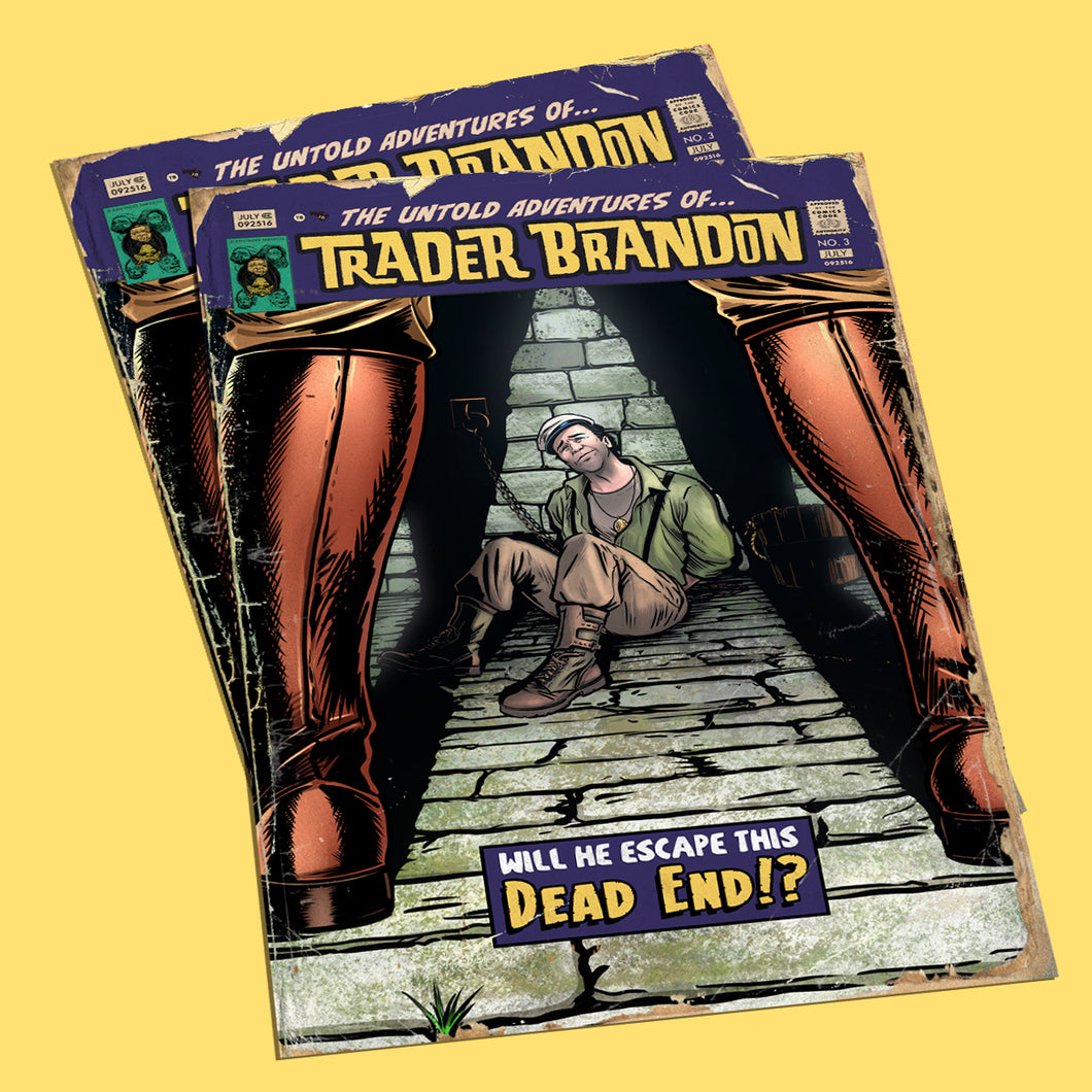 The Untold Adventures of Trader Brandon - Issue Three