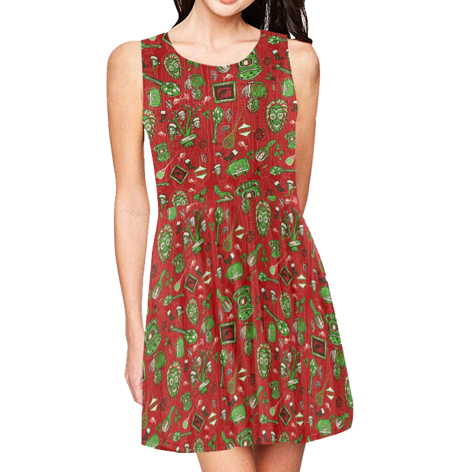 Sam's Holiday Hoopla Aloha Dress