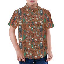 Load image into Gallery viewer, IT'S ALIVE! Youth Aloha Shirt