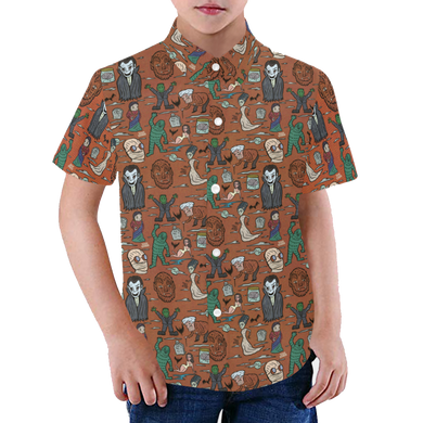 IT'S ALIVE! Youth Aloha Shirt
