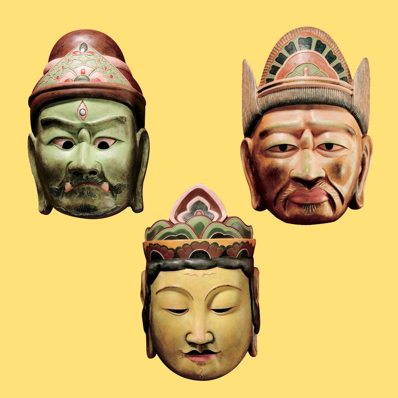 Processional Masks of the Devas