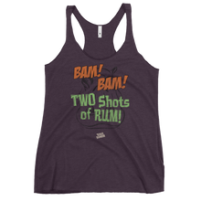 Load image into Gallery viewer, TWO SHOTS Women's Racerback Tank