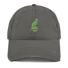 Load image into Gallery viewer, Distressed Green Parrot Hat