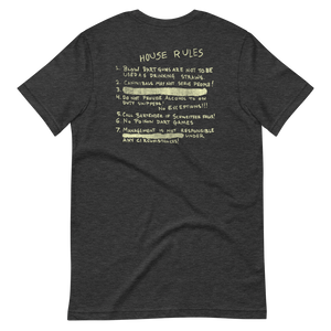 West Coast House Rules Unisex T-Shirt