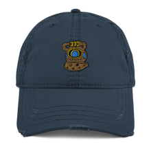 Load image into Gallery viewer, Distressed Dive Helmet Dad Hat