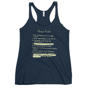 East Coast House Rules Racerback Tank