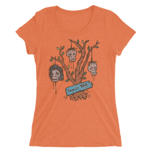 Family Tree Ladies' short sleeve t-shirt