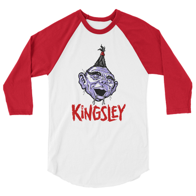 Kingsley 3/4 sleeve raglan shirt