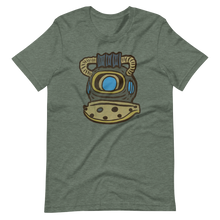Load image into Gallery viewer, Dive Helmet Short-Sleeve Unisex T-Shirt