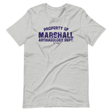 Load image into Gallery viewer, Marshall Archaeology Dept Unisex T