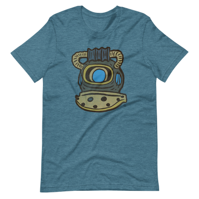 Dive Helmet Short-Sleeve Unisex T-Shirt