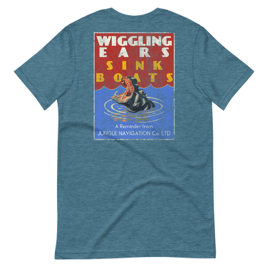 Wiggling Ears Short-Sleeve Unisex T-Shirt