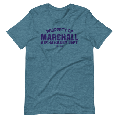 Marshall Archaeology Dept Unisex T