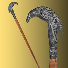 Load image into Gallery viewer, Well-Dressed Man's Raven Cane replica