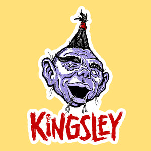 Kingsley sticker
