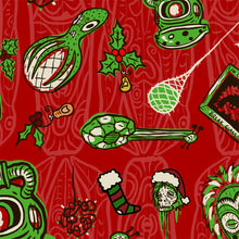 Load image into Gallery viewer, Sam's Holiday Hoopla Aloha Dress