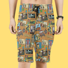 Load image into Gallery viewer, Untold Adventures Men Swim Trunks