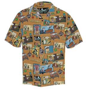"""Untold Adventures"" Aloha Shirt"