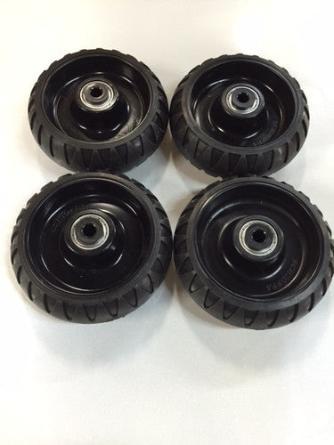 Set of 4 wheels for Stryker stretcher | New