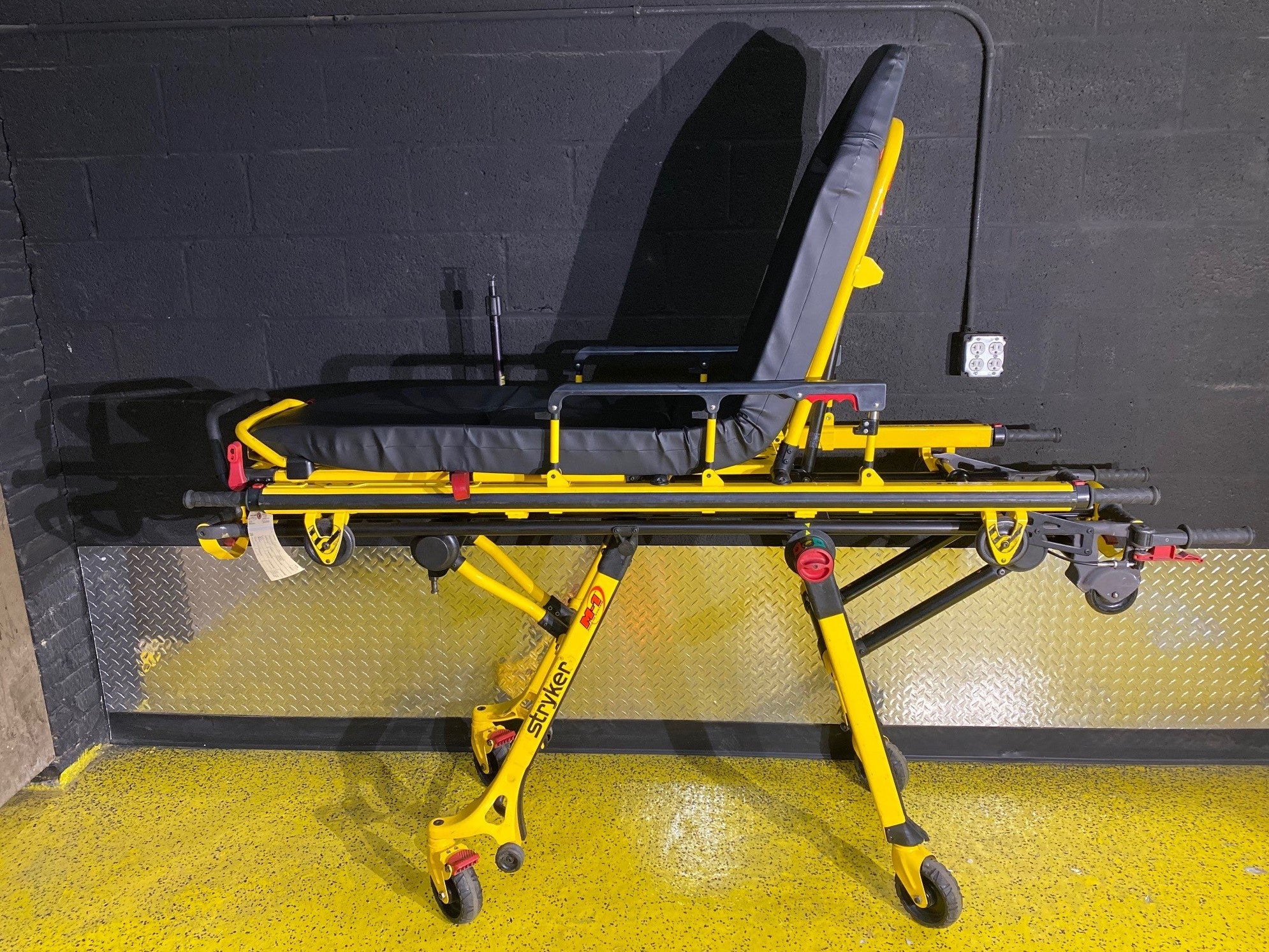 Stryker M1 Ambulance Cot with Mounting Track | Used Equipment