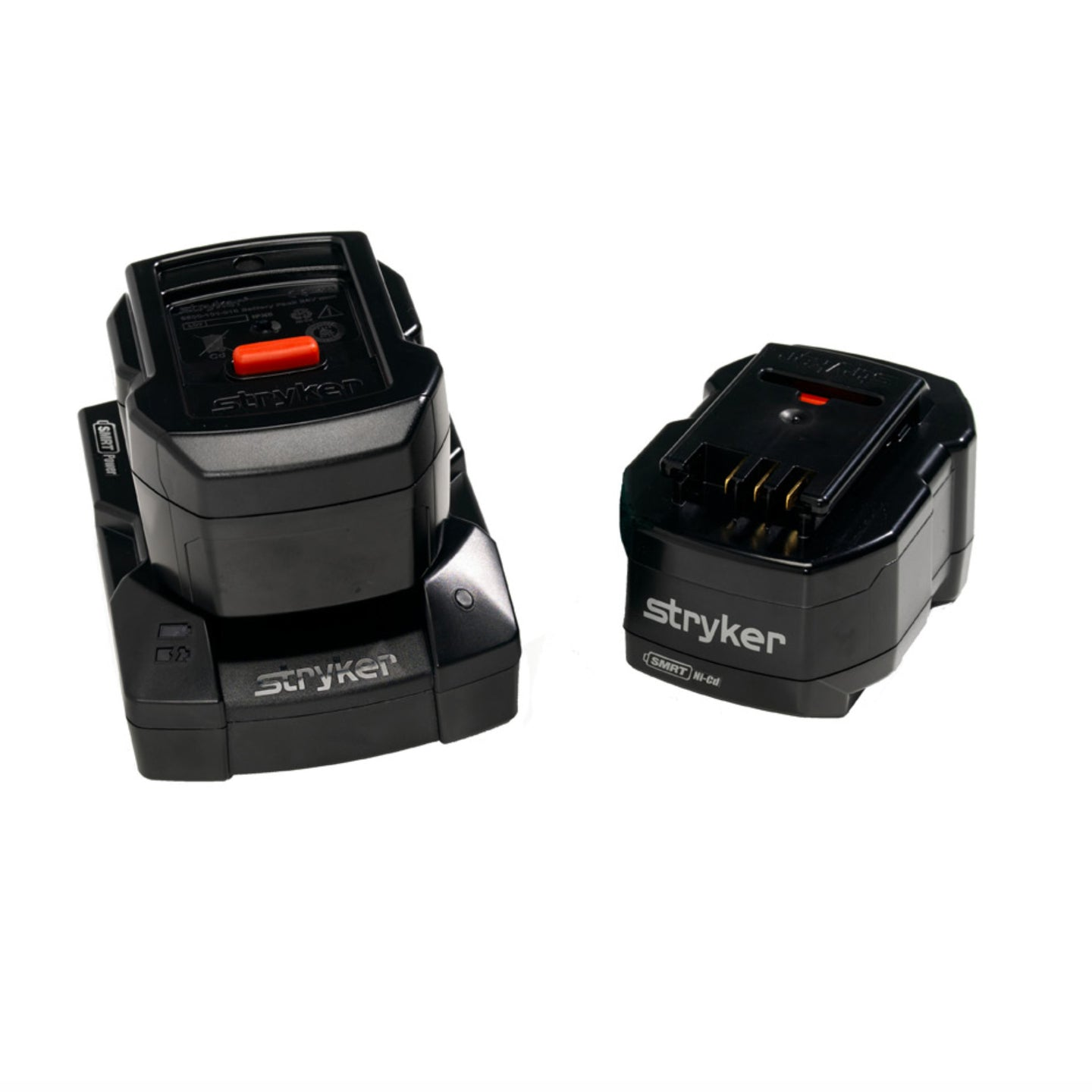 New Stryker SMRT Battery Power Kit For Power Pro Includes Two Batteries, Charger base, Power Cable