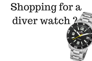 Shopping for a Diver Watch