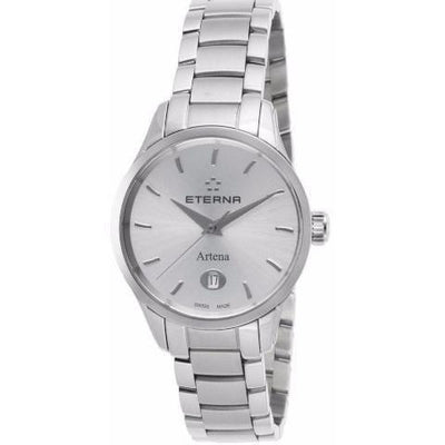 Eterna Womens Artena Silver-Tone Dial - Watches
