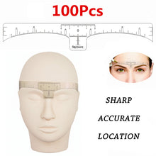Load image into Gallery viewer, Disposable Eyebrow Ruler Sticker