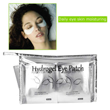 Load image into Gallery viewer, Hydrogel Eye Pads with Transparent Cosmetic Bag