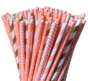 Paper Straws/Lash Brush Covers