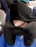 H Pillow (BEST TRAVEL PILLOW) with HOOD