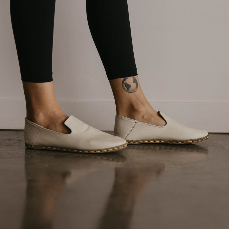 Women's Slip On / Bone