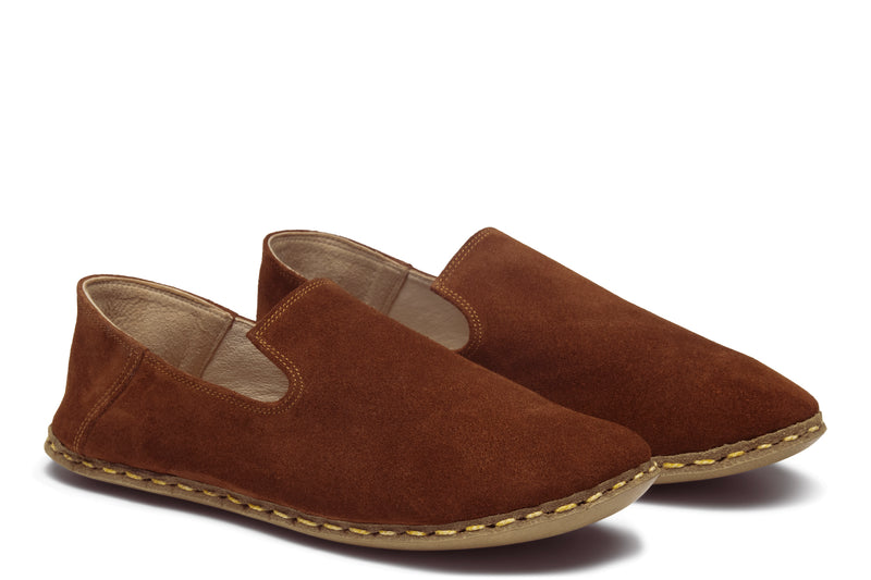 Men's Slip On / Chestnut