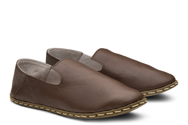 Men's Slip On / Walnut