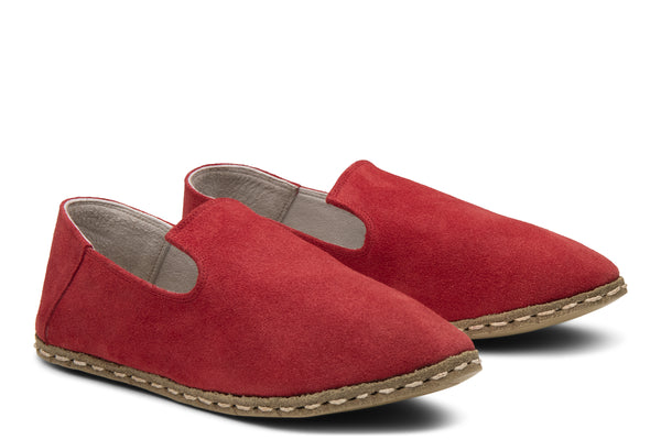 Women's Slip On / Scarlet