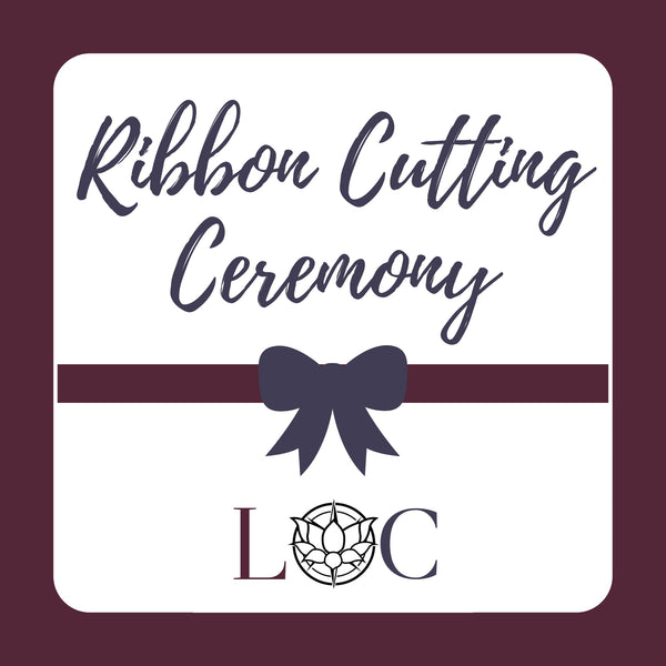 Ribbon Cutting Ceremony Thursday 8/8 at 5pm