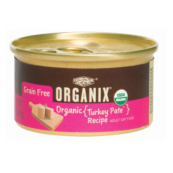 Castor & Pollux Organic Turkey Cat Food (24x5.5OZ )