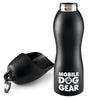 Bundle: MDG 25 Oz Dog Water Bottle (Black) and (Blue)