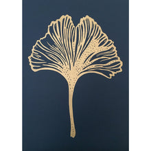 Load image into Gallery viewer, Monika Petersen Ginko Leaf Indigo