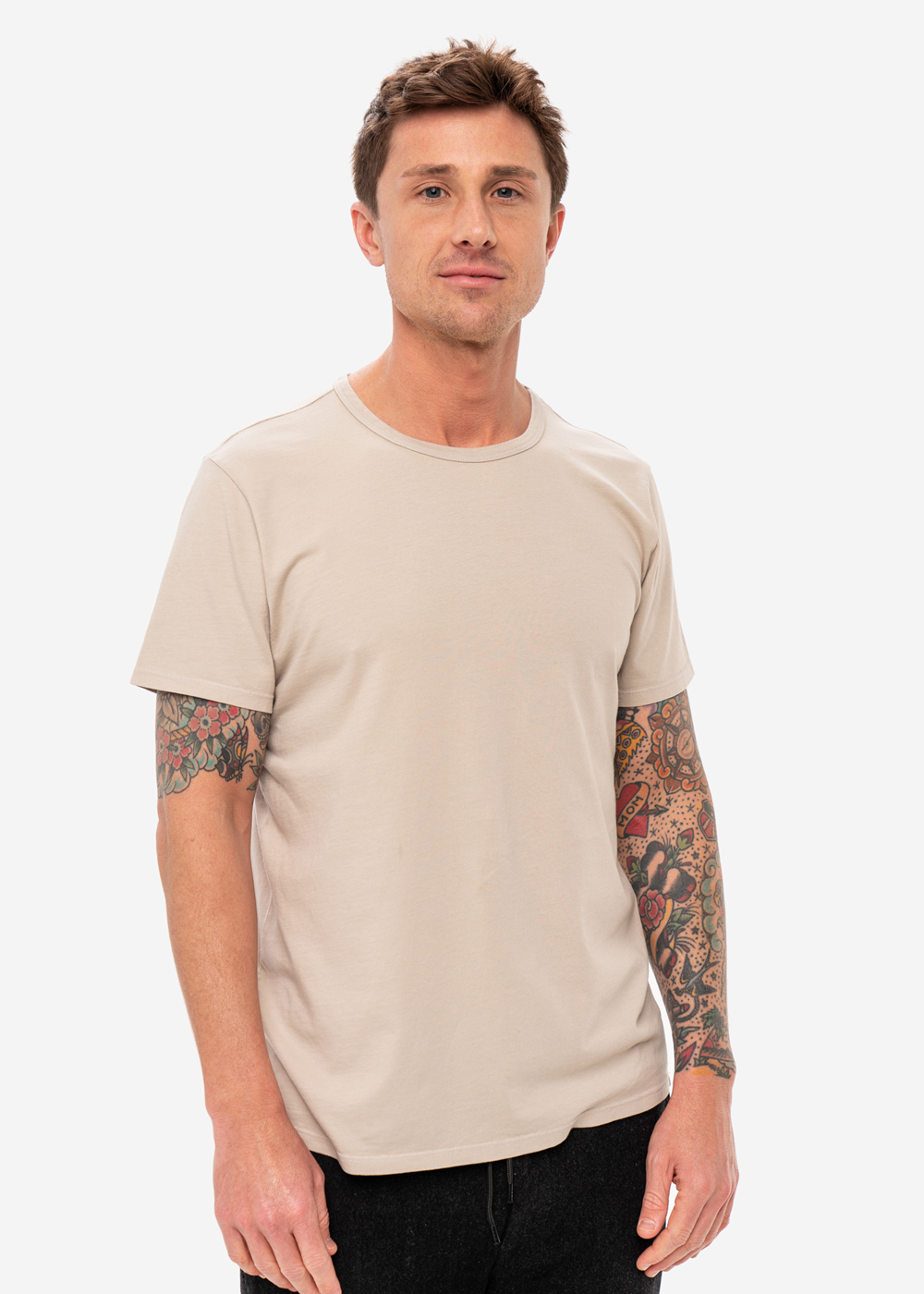 The Everyday T-Shirt - Sand
