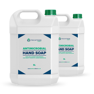 Techtron Direct Antimicrobial Hand Soap 5 Litre 2 Bottles