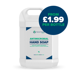 Techtron Direct Antimicrobial Hand Soap Only £1.99 per bottle