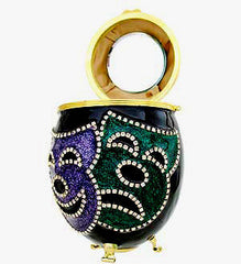 Mardi Gras Faces Purse