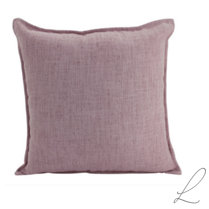 Linen Blush Cushion 55x55cm ( min order 2 )
