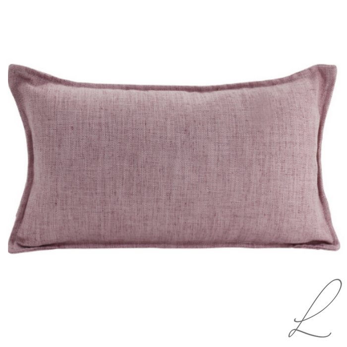 Linen Blush Cushion 30x50cm ( Min order 2 )