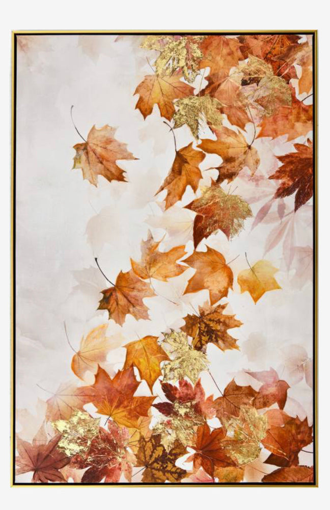 Falling leaves canvas