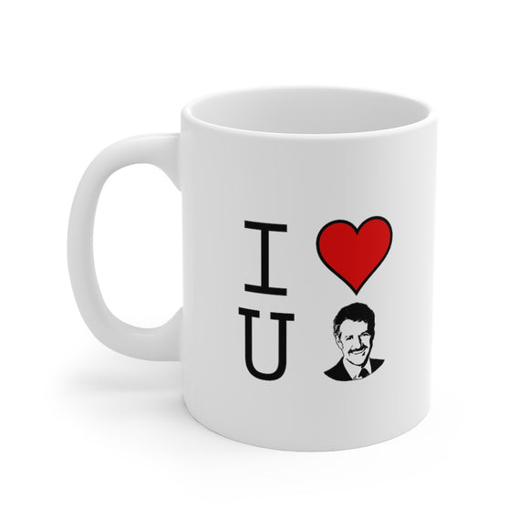 We love you Alex Trebek Diplomat: Beverage Mug 11oz